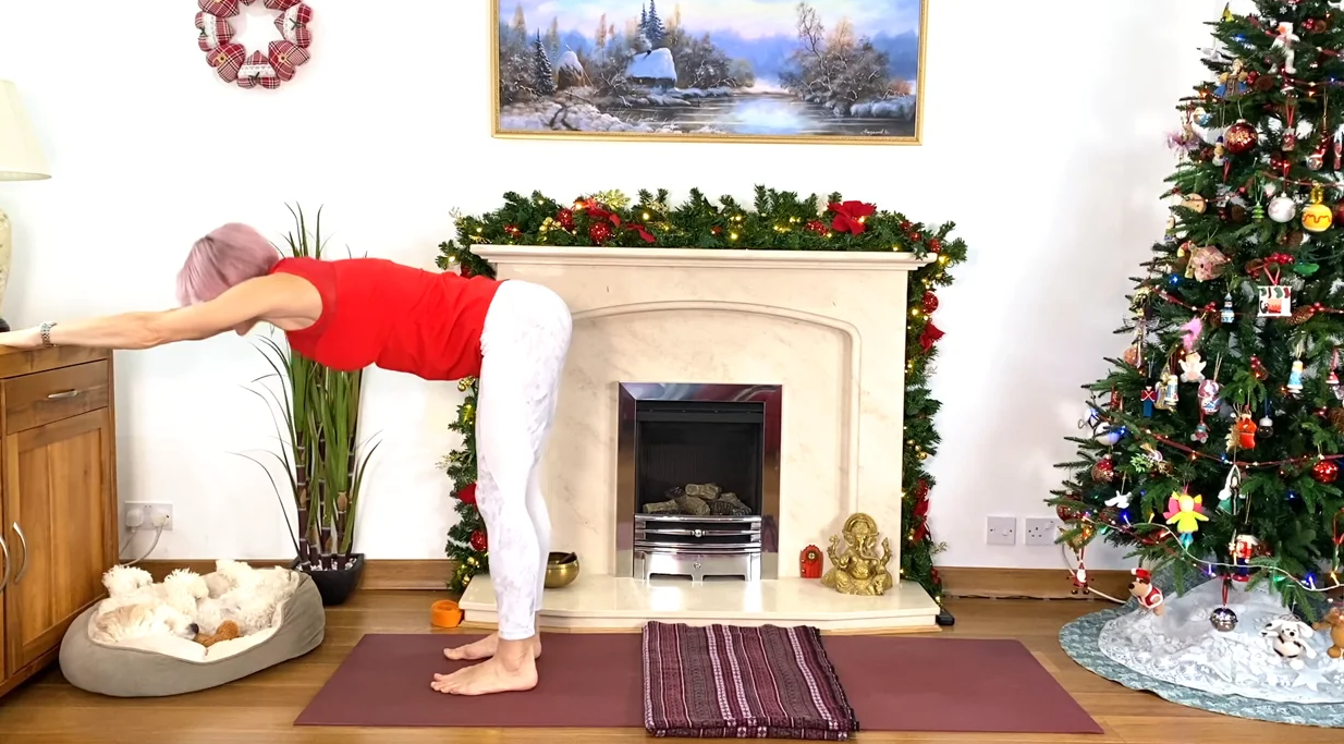 Olga Oakenfold – Soothing Yoga Session For Lower Back. Postures, Breathing & Relaxation