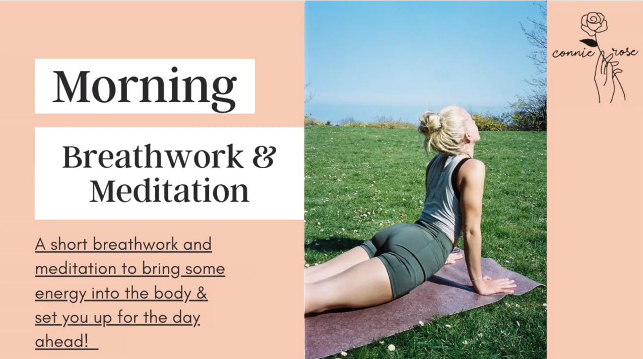 Connie Lodwick - Morning Meditation and Breathwork