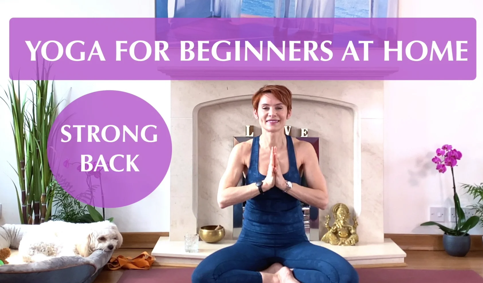 Olga Oakenfold - Yoga For Beginners at Home - Strong Back
