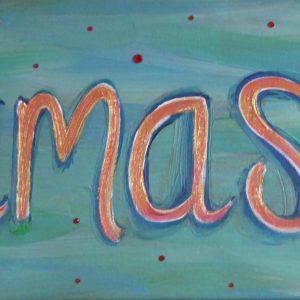 Namaste Painting Turquoise