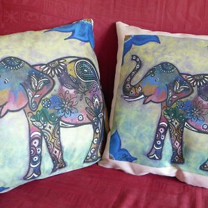 Trumpeting Joy! cushions