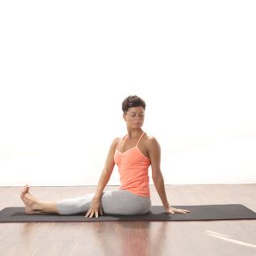 Asana of the month - May - Spinal twist