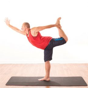Posture of the month - January - Natarajasana (Lord of the Dance)