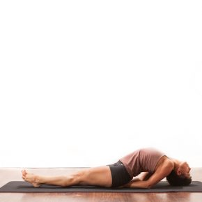 Posture of the month - March - Matsyasana - Fish Pose
