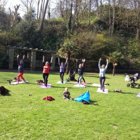 Open Air Yoga in Holywell