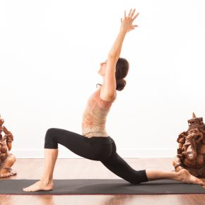 Posture of the month - July - Low Lunge/Crescent Moon - Anjaneyasana