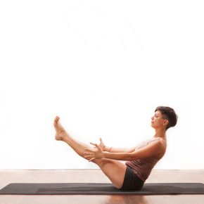 Posture of the month - August - Boat - Navasana