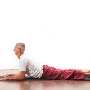 Posture of the month - November - Sphinx -  Salamba Bhujangasana