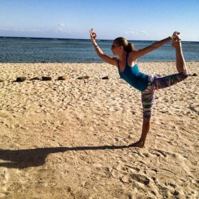 Posture of the Month - January - Cosmic Dancer/Lord of the Dance - Natarajasana