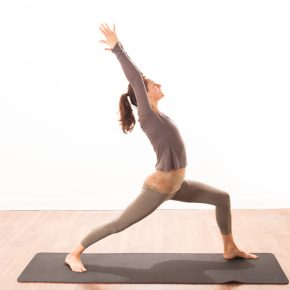 Posture of the Month - March - Warrior 1 - Virabhadrasana 1