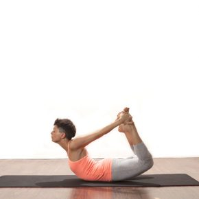 Posture of the Month - May - Bow - Dhanurasana