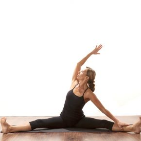 Posture of the month - June - Wide leg Seated Side Stretch ~ Parsva Upavista Konasana