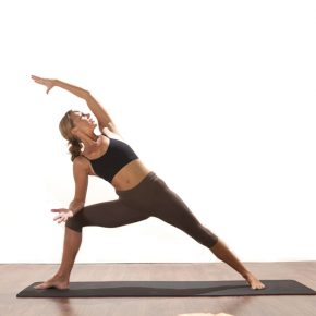 Posture of the Month - July - Extended Side Angle - Parsvakonasana