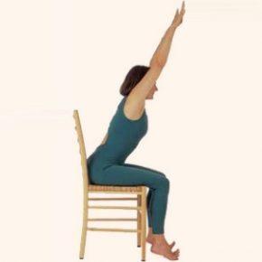 Chair Yoga at the Yoga Life Studio 2