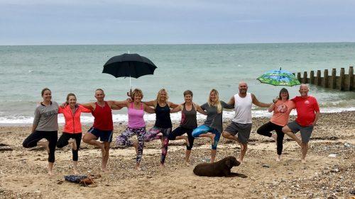 Beach Yoga Eastbourne