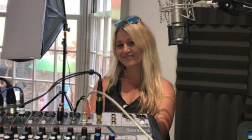 Eastbourne.Online radio interview with Eva