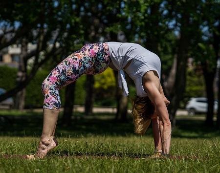 Olga Oakenfold yoga