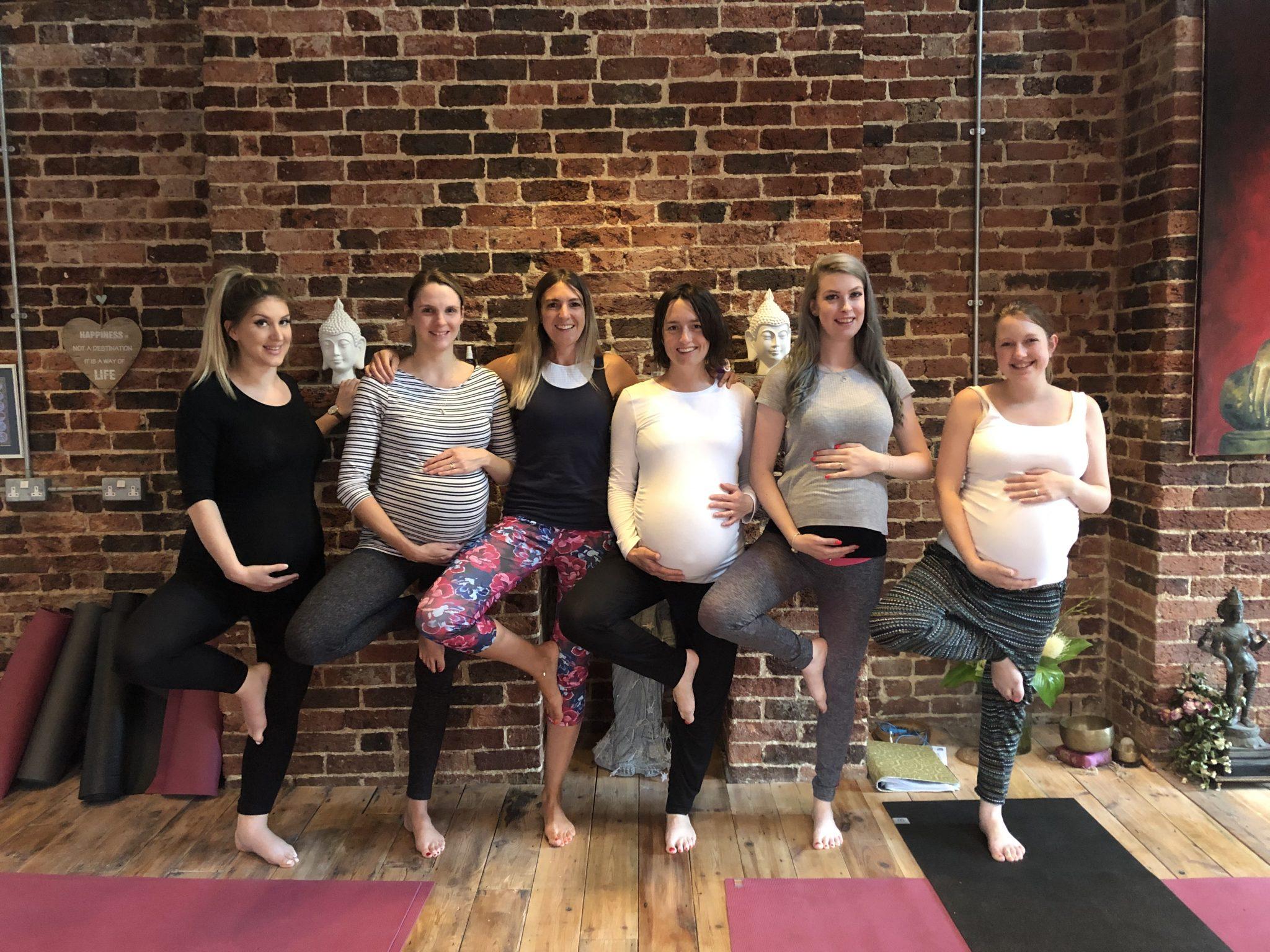 Pregnancy Yoga with Alice