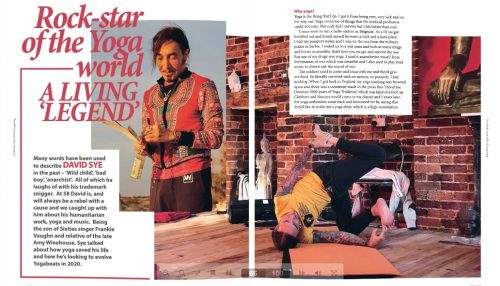 Our Studio in the YOGA Magazine